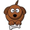 perro-hueso