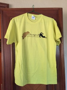 camiseta solidaria AYANDENA